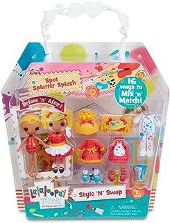 Lalaloopsy Minis Style 'N' Swap Doll- Spot Splatter Splash