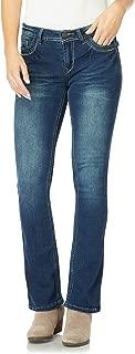 Women's Juniors Classic Legendary Stretch Bootcut Denim Jeans w/Back Flap Pocket