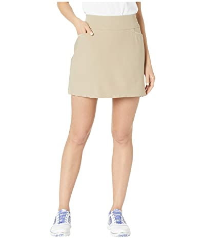 adidas Golf Adistar Pull On 16 Skort (Trace Khaki) Women