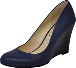 Amazon.com: Navy Blue Wedge Shoes