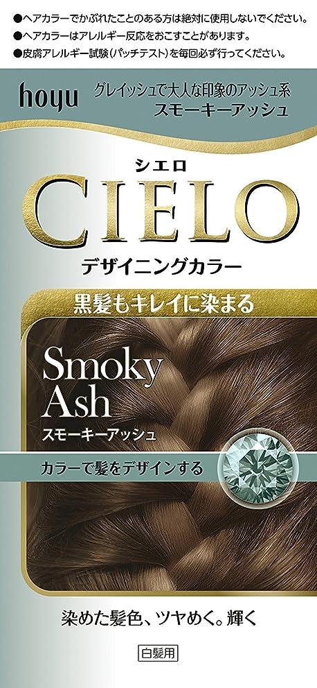 ぐるぐるかび臭いインシデントホーユー シエロ デザイニングカラー (スモーキーアッシュ)×6個