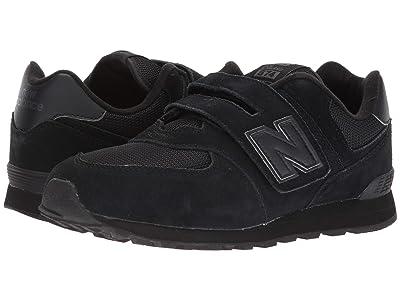 New Balance Kids KX574v1Y (Little Kid/Big Kid) (Black/Black) Kids Shoes