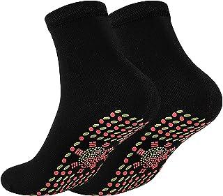 Self-Heating Socks Women Men Winter Warm Tourmaline Massage Socks Breathable Comfortable Unisex Warm Foot for Outdoor Hiki...