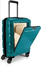 HAUPTSTADTKOFFER BRITZ Cabin Luggage Suitcase Hardside Spinner Trolley Expandable TSA Pine Green