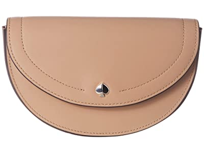 Kate Spade New York Andi Small Half Moon Belt Bag (Light Fawn) Handbags