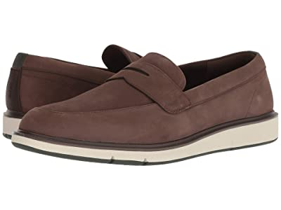 SWIMS Motion Penny Loafer (Brown/Olive) Men