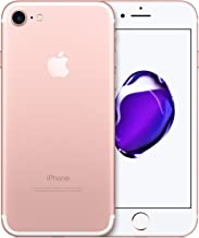 Apple iPhone 7, 32GB, Rose Gold - For Verizon (Renewed)