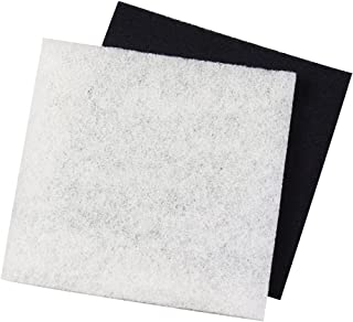 Pondmaster Danner 12202 Carbon and Coarse Pad Replacement Filter, Black