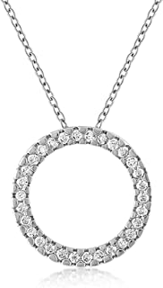 Best emerald pendant necklace white gold Reviews
