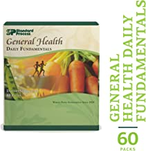Standard Process - General Health Daily Fundamentals - Foundational Maintenance Support Supplement Vitamin A, C, D, B6, B12, Thiamin, Riboflavin, Iron, Iodine, Zinc, Copper, Manganese, DHA, EPA - 60 Pack