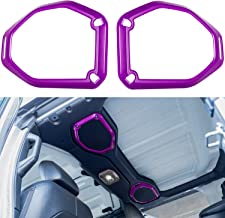 Purple for Jeep JL Interior Accessories RT-TCZ Car Inner Top Roof Speaker Cover Trim Decor ABS Accessories for 2018-2021 Jeep Wrangler JL JLU /& 2020 2021 for Jeep Gladiator JT