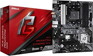 ASRock B550 PHANTOM GAMING 4 AC Supports 3rd Gen AMD AM4 Ryzen™ / Future AMD Ryzen™ Processors motherboard