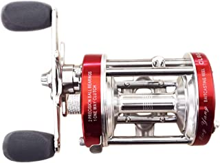 Ming Yang Red CL60 Left Handed Baitcasting Fishing Reels 2 BB + 1 RB Gear Ratio 4.2:1 Muskie Catfish Saltwater Fishing