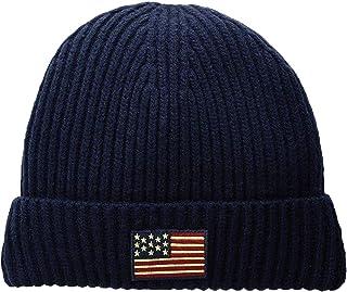 قبعة صوفية للرجال من Polo Ralph Lauren بتصميم العلم الأمريكي
