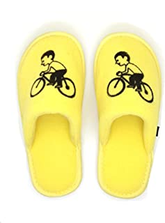 MF Emoji Bicycle Slippers for Kids Boys Girls Slipper Indoor Winter Home Slides Comfortable Playing time