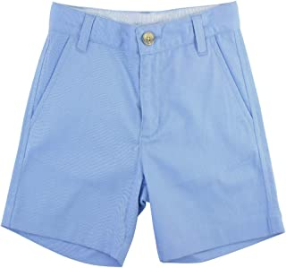 Baby/Toddler Boys Cuffed Chino Shorts with Adjustable Waistband