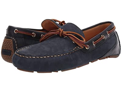 Sperry Gold Cup Harpswell 1-Eye Nubuck (Navy) Men