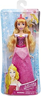 Disney Princess Royal Shimmer Aurora Fashion Doll with Skirt That Sparkles, Tiara, and Shoes