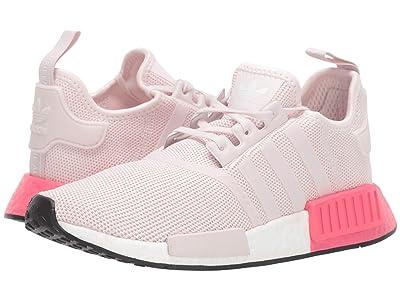 adidas Originals Kids NMD_R1 J (Big Kid) (Orchid Tint/Real Pink) Girls Shoes