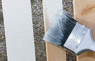Holz Isoliergrund weiss, deckend - Vorstreichfarbe für Wetterschutzfarbe und Dauerschutzfarbe im Außenbereich 2,5 Liter