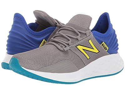 New Balance Kids Fresh Foam Roav (Big Kid) (Marblehead/UV Blue/Sulphur Yellow) Boys Shoes