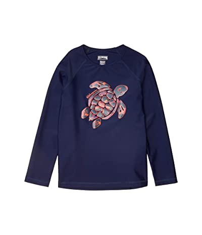 Vilebrequin Kids Glassy Starfish Dance Rashguard (Toddler/Little Kids/Big Kids) (Sapphire) Boy