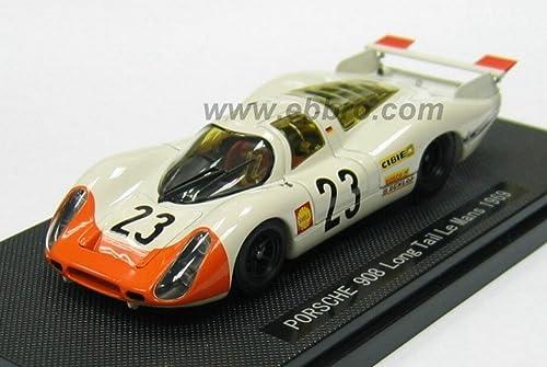 Ebbro EB43741 Porsche 908 L.Tail N.23 Le Mans 1969 1 43 MODELLINO Die CAST Model Compatible avec