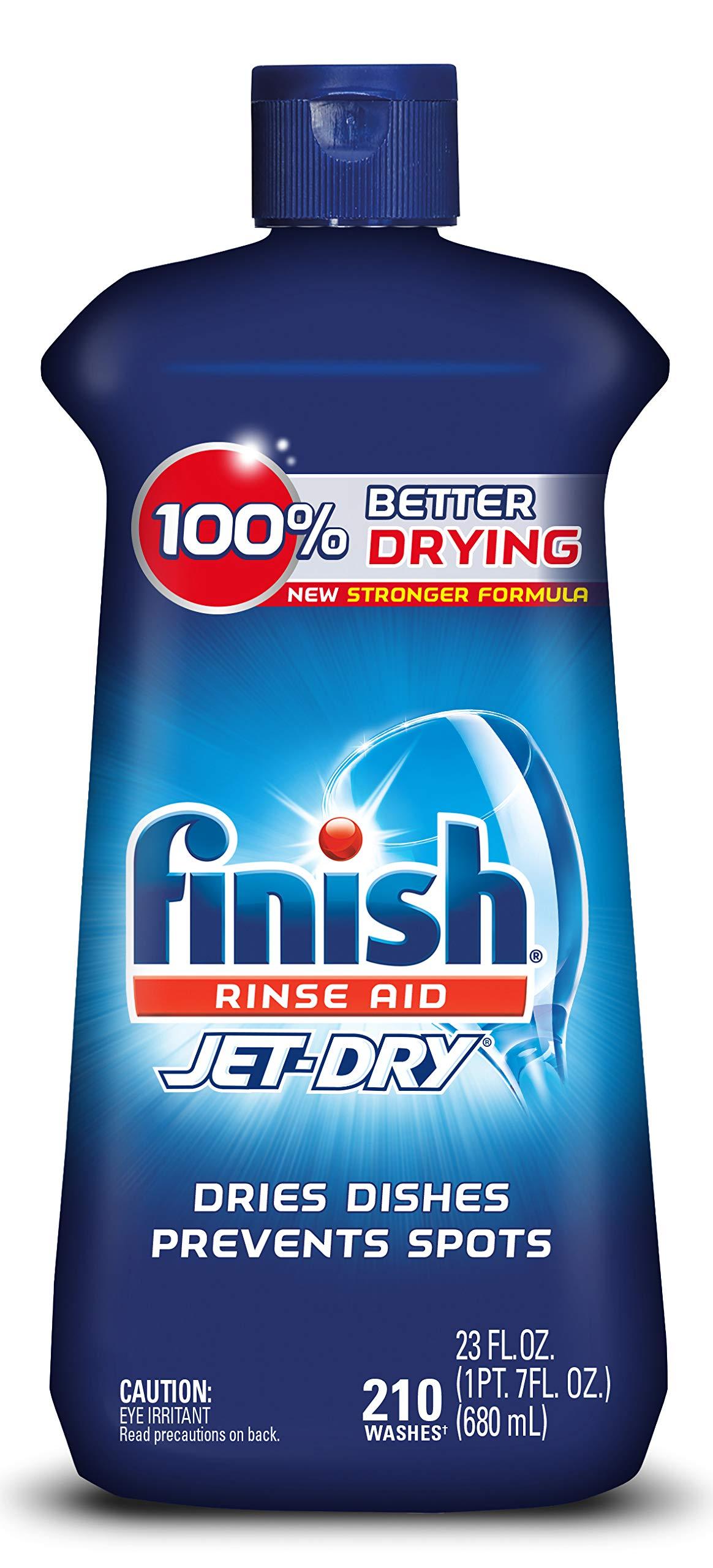 Finish Jet Dry Rinse Dishwasher Drying