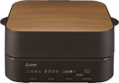 Mitsubishi Electric bread oven TO-ST1-T retro brown Toaster which burns 1 sheet of ultimate