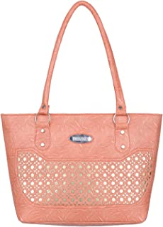 Janta PU Leather Women Shoulder Bag (Orange-3210)