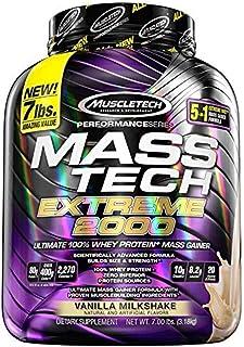 Muscletech Mass Tech Extreme 2000 7 Lbs, Sabor Vainilla