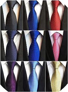 کراوات ابریشمی کلاسیک مردانه Adulove Neckktie کلاسیک بافته شده ژاکارد گردن کراوات 6/9/12 رایانه شخصی