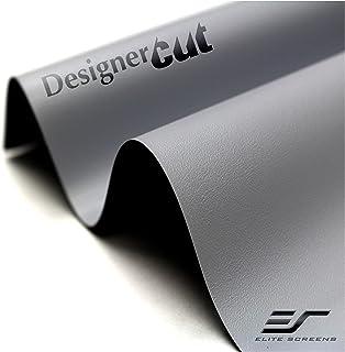 Elite Screens Designer Cut, 135-inch 16:9, Blackout DIY High Contrast Grey Projector Screen Material, ZRM-135H-CINEGREY