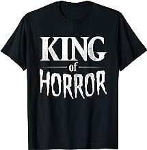 Funny Horror Movie Fan Shirt - Halloween Horror King Gift