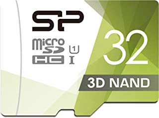 Silicon Power 32GB 3D NAND High Speed MicroSD Card for Dashcams and Home Monitoring + SD Adapter