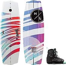 Hyperlite Murray Jr Girls Wakeboard 120 W//Jinx Kids Bindings Black//Pink 12K-2
