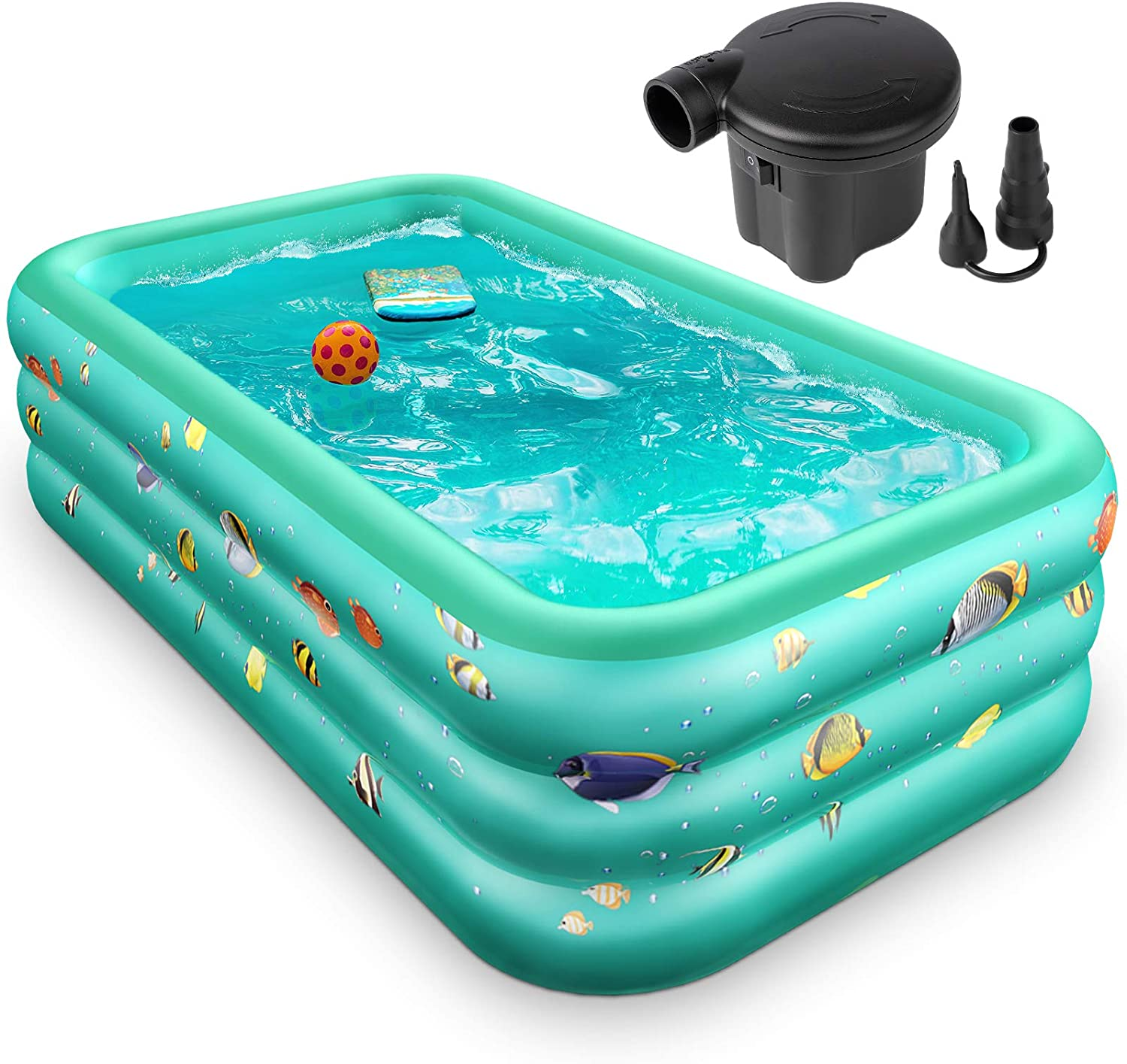 Inflatable Pool Regular discount Full-Sized Kiddie 96 Inch X 22 Large 57 Ranking TOP3