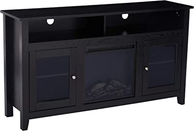 Dark Wood Tv Credenza : Extra long tv stand luxury the best contemporary