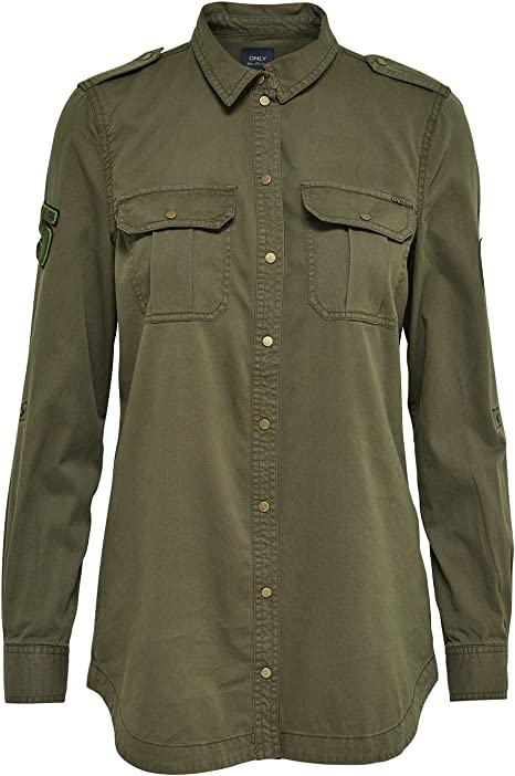 Only Camisa Militar Verde onlNevada