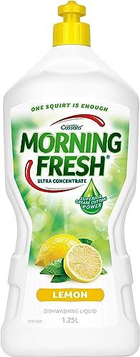 Morning Fresh Super Concentrate Lemon Dishwashing Liquid, 1.25 liters