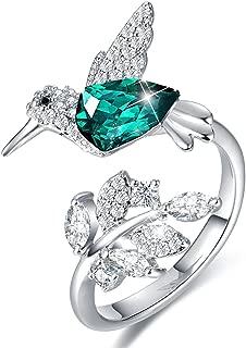 hummingbird jewelry rings