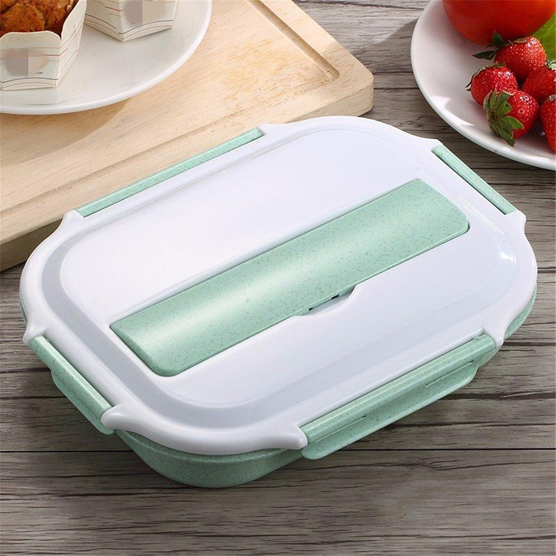 Envio gratis en todas las ordenes Aislamiento Box lunch microondas plástico plástico plástico estudiantes lindo bento 1 pisos cuadro comedor Acero inoxidable 304.  ordene ahora los precios más bajos
