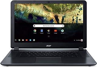 "Acer Chromebook 15 CB3-532-C42P, Intel Celeron N3060, 15.6"" HD Display, 4GB LPDDR3, 16GB eMMC, Granite Gray, Google Chrome"