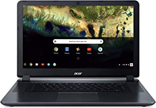 "Acer Chromebook 15 CB3-532-C42P, Intel Celeron N3060, 15.6"" HD Display, 4GB LPDDR3, 16GB eMMC, Granite Gray, Google Chrome"