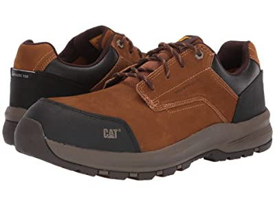 Caterpillar Resolve Low Composite Toe (Brown Nubuck) Men