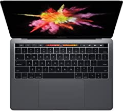 Apple Laptop MacBook Pro 13.3in with Touch Bar MPXV2LL/A, Intel Core-i5 3.10GHz, 8GB Memory, 256GB SSD, Space Gray (Renewed)