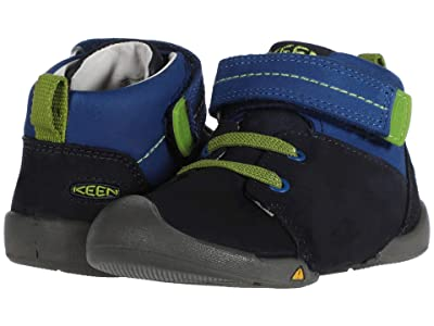 Keen Kids Pep Mid (Toddler) (Dress Blues/Classic Blue) Boy