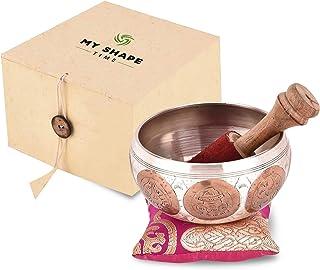 "Tibetan Singing Bowl–4""singing bowl set singing bowl mallet meditation sound bowl musical instrument for stress relief and..."