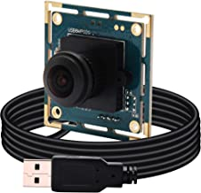 BSG 8MP USB Camera Module Sony IMX179 Sensor with 180degree Fisheye Lens,Support 3264x2448,UVC Compliant,Support Most OS,Focus Adjustable USB with Cameras High Speed USB2.0 Webcam,Plug and Play