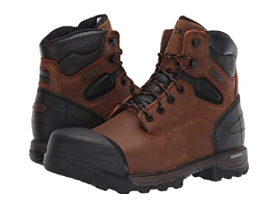Rocky 6 XO-Toe Composite Toe WP (Brown/Black) Men